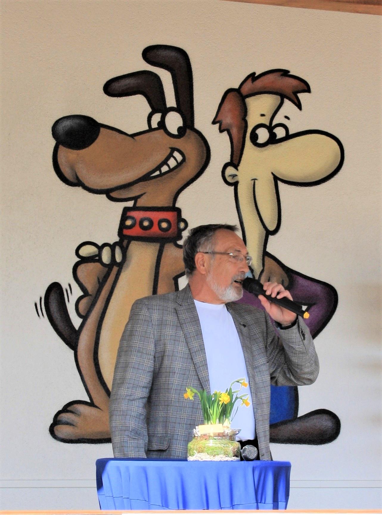 Ortsvorsteher Heinz Olbert