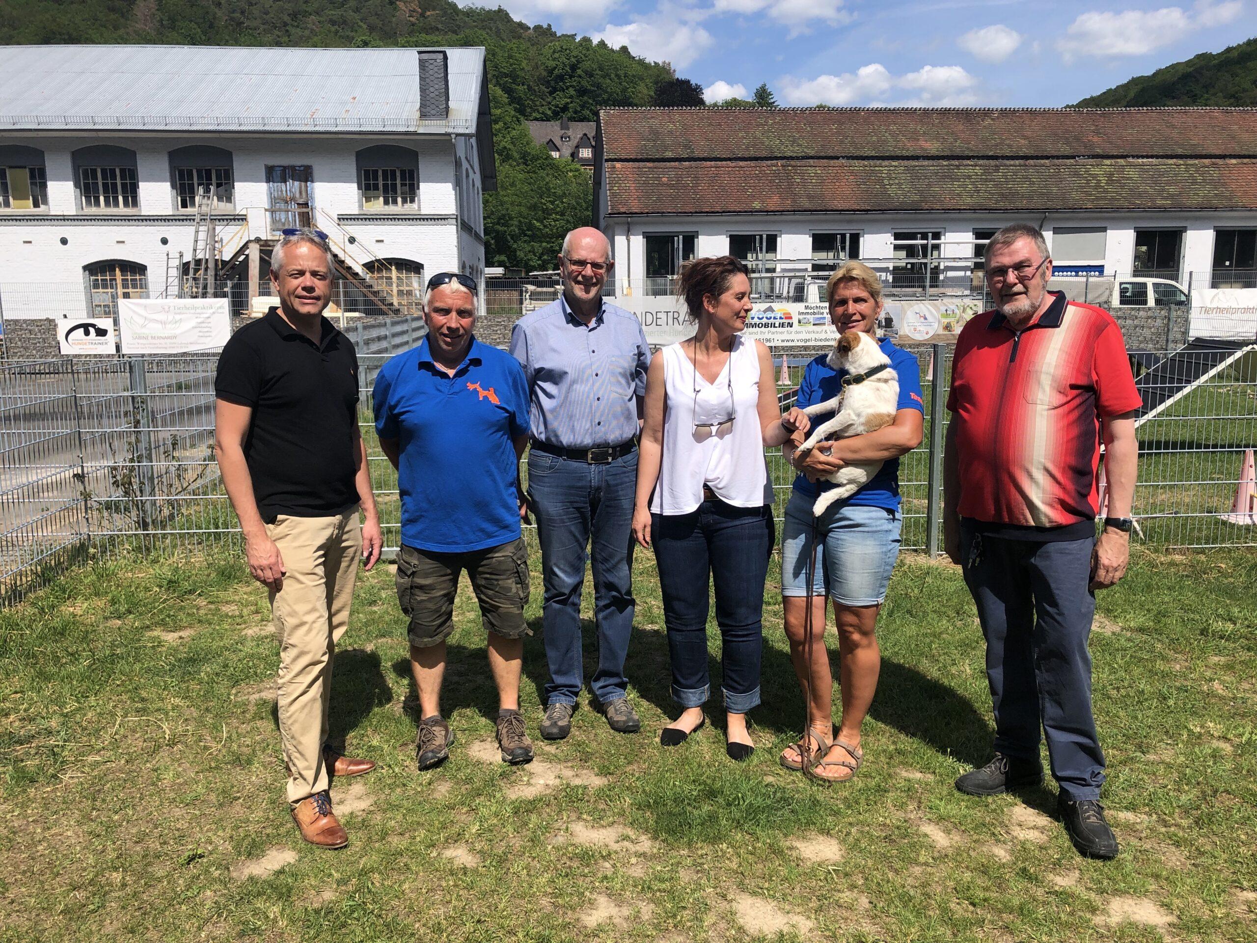 Besuch Uwe Pöppler mit CDU Fraktion