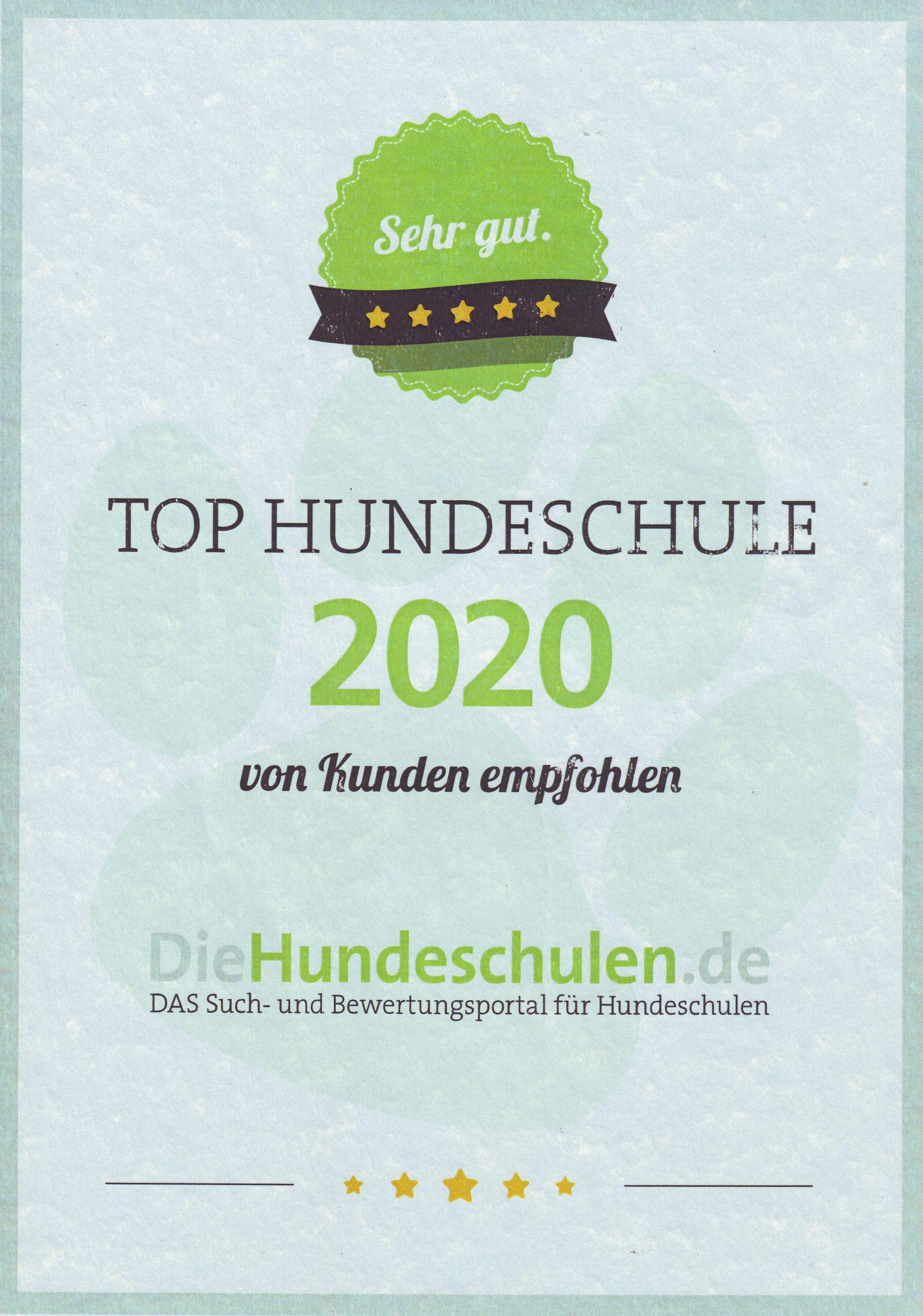 UrkundeHundeschulenAward2020